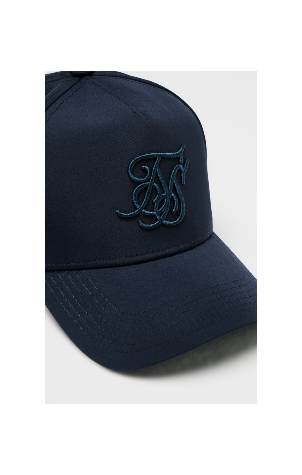 Load image into Gallery viewer, SikSilk Crushed Nylon Full Trucker - Navy (1)