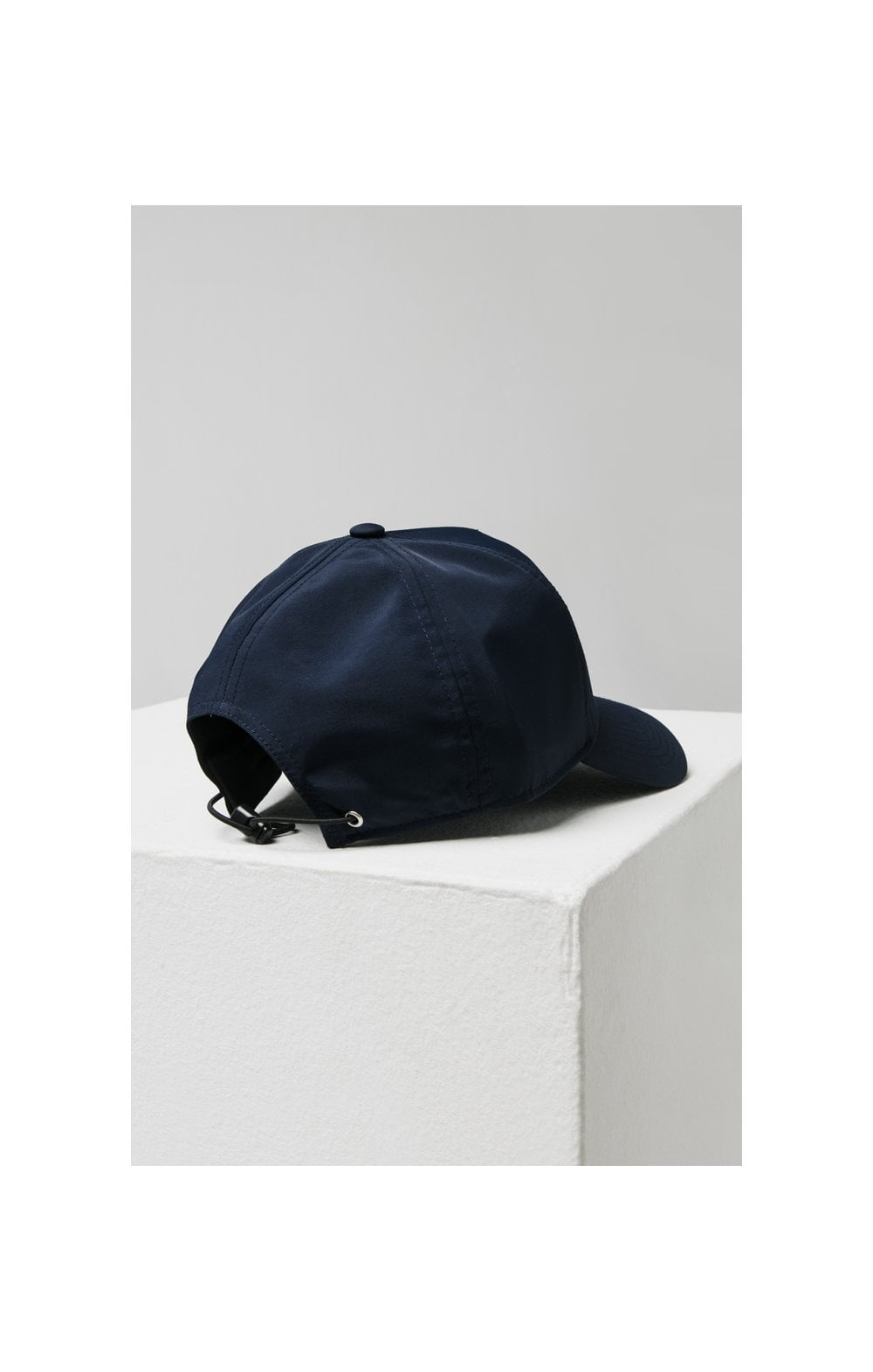 Load image into Gallery viewer, SikSilk Crushed Nylon Full Trucker - Navy (3)