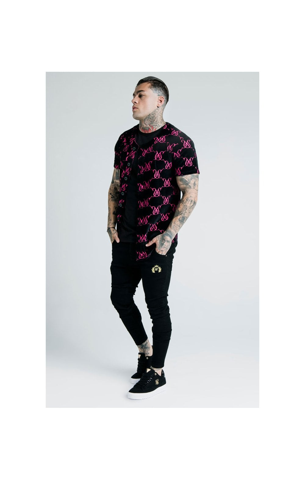 Load image into Gallery viewer, SikSilk x Dani Alves Low Rise Prestige Denims - Black (5)
