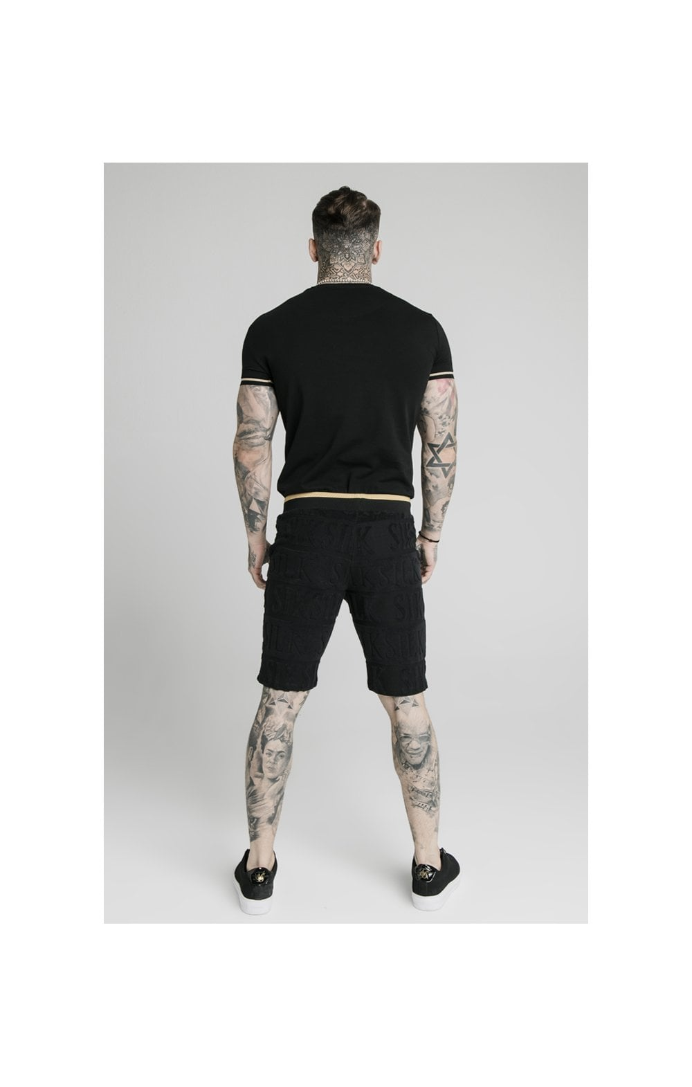 SikSilk Inverse Gym Shorts - Black (8)