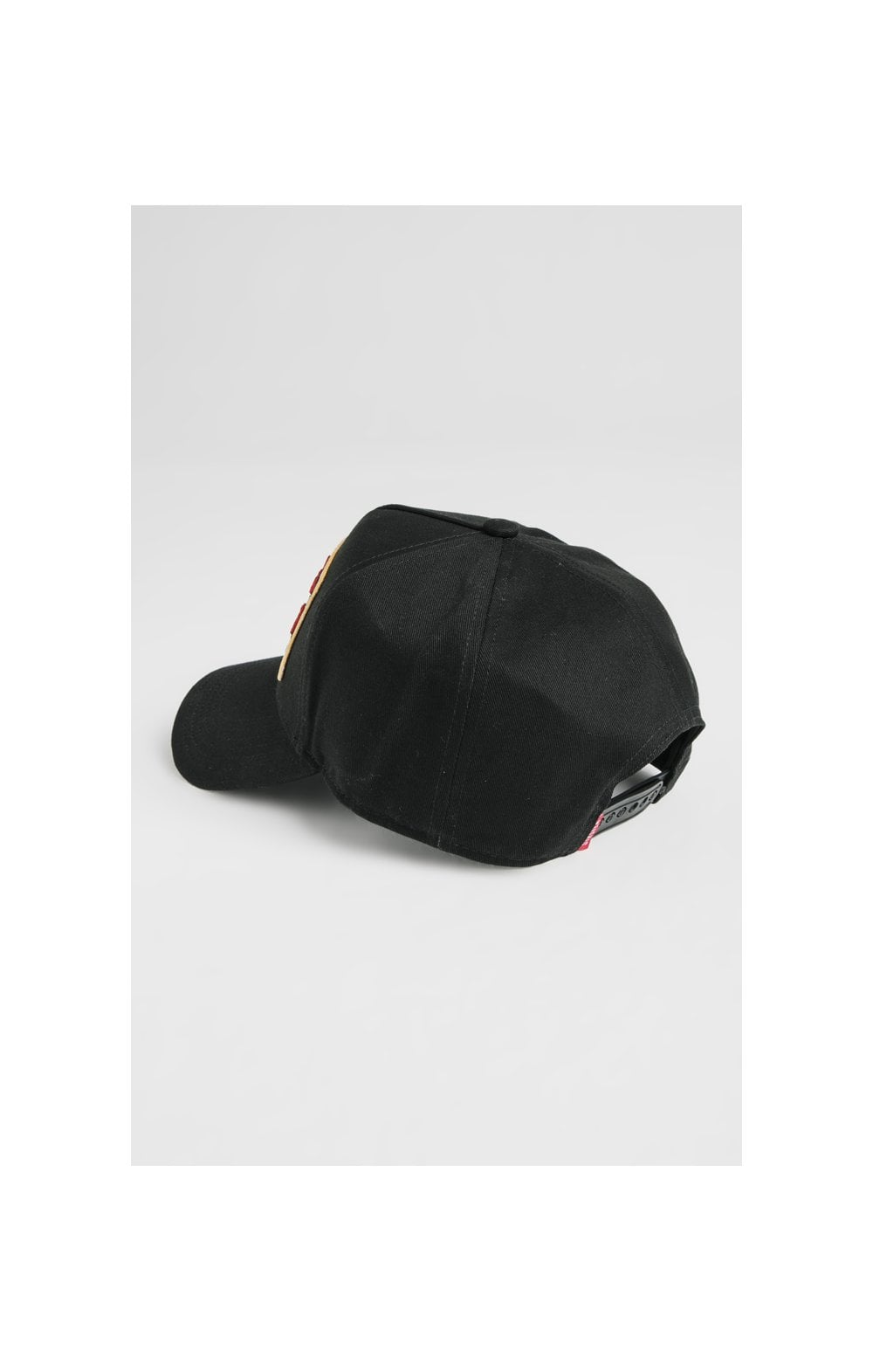 SikSilk Patch Full Trucker - Black (2)