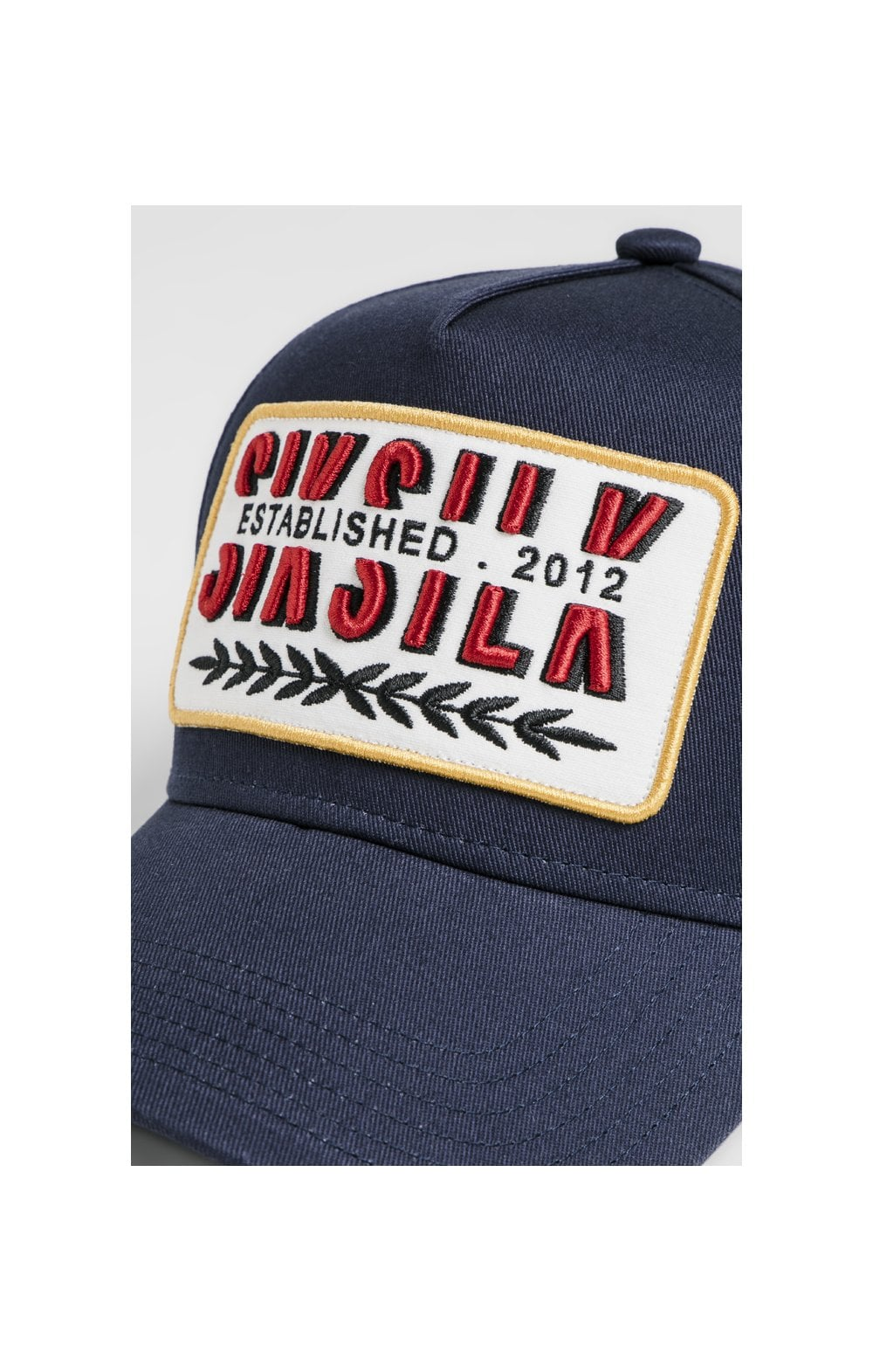 Load image into Gallery viewer, SikSilk Patch Full Trucker - Navy (1)