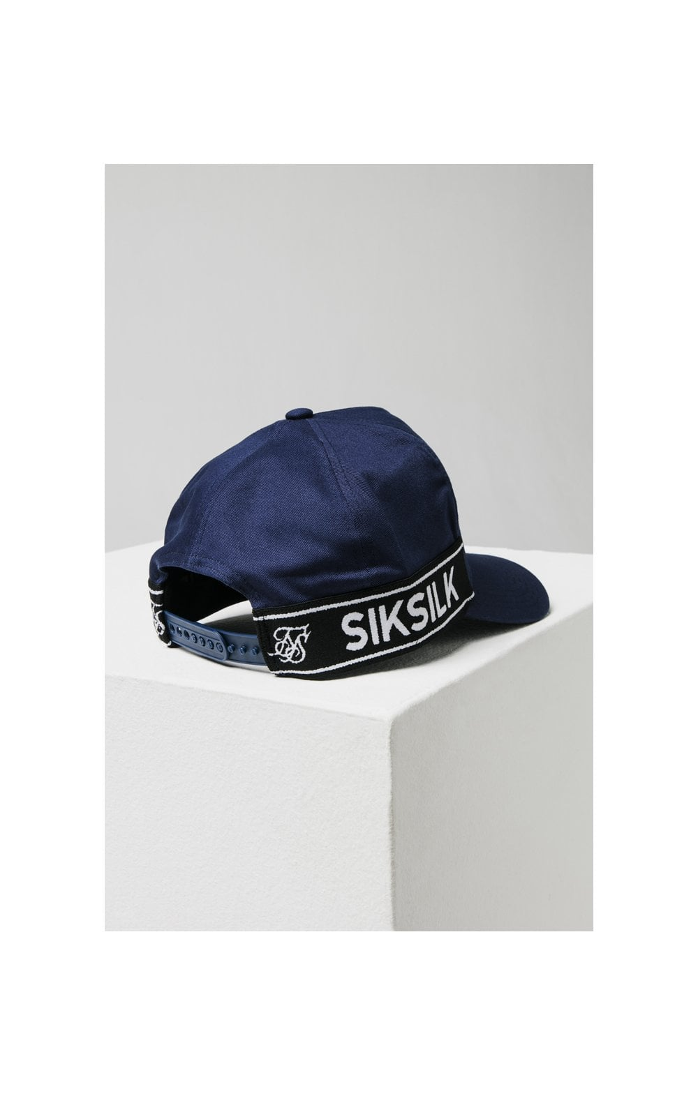 SikSilk Stretch Fit Full Trucker - Navy (6)