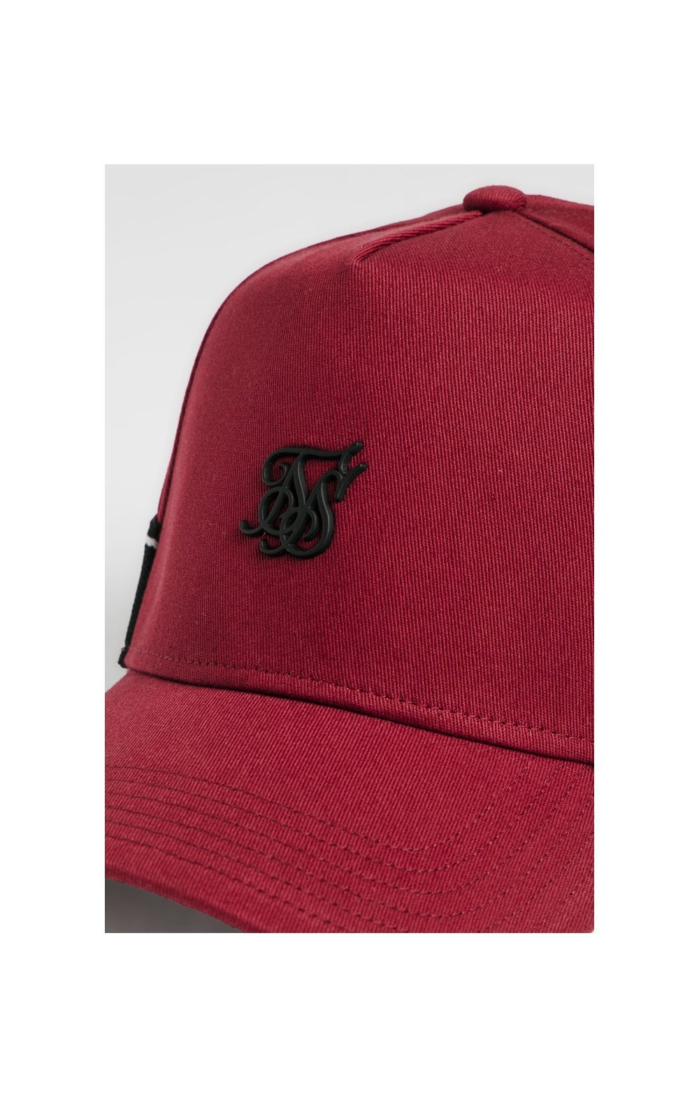 SikSilk Stretch Fit Full Trucker - Red (1)