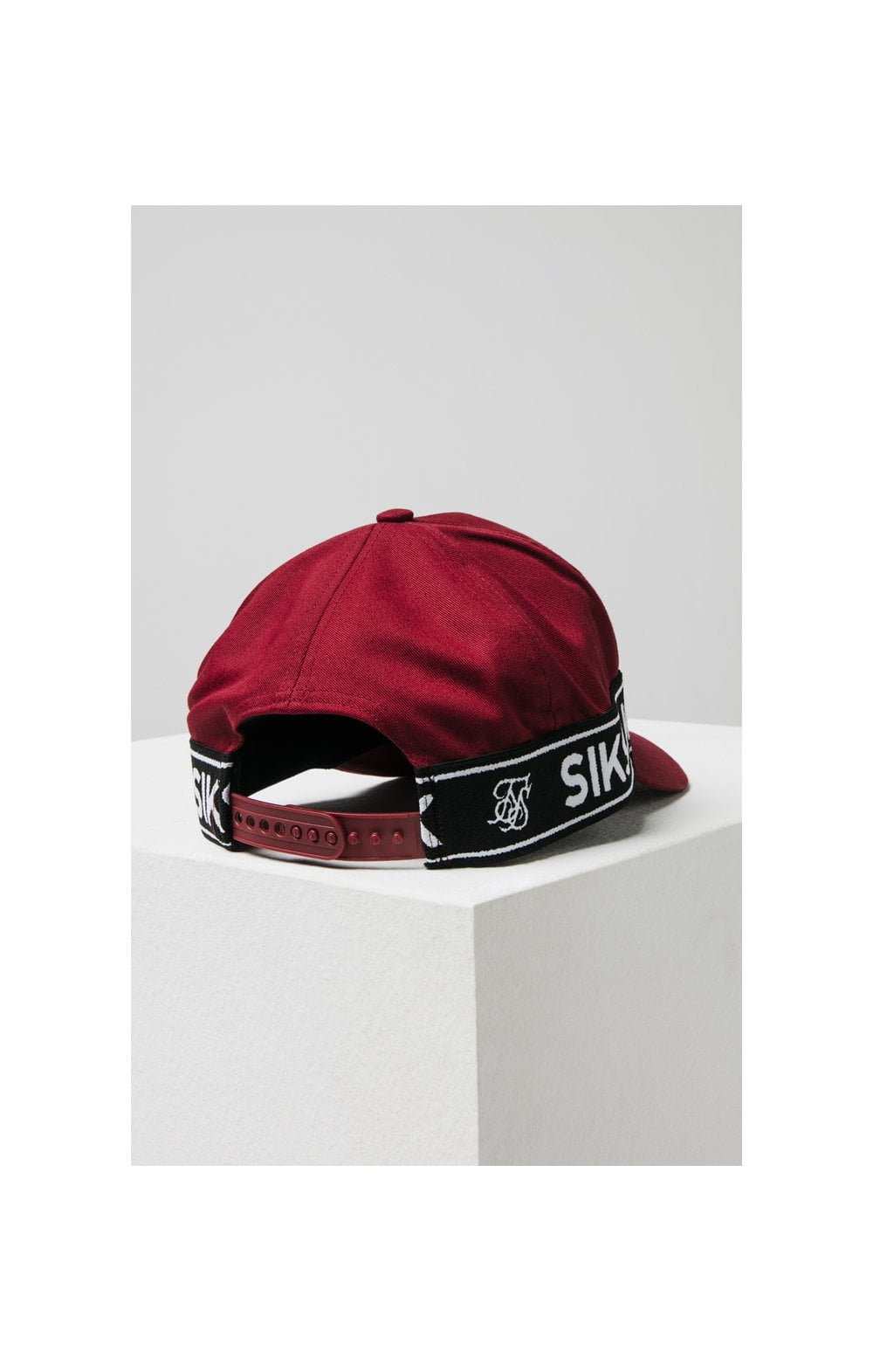 SikSilk Stretch Fit Full Trucker - Red (5)