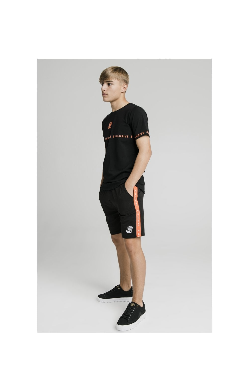 Illusive London Tape Tee - Black (2)