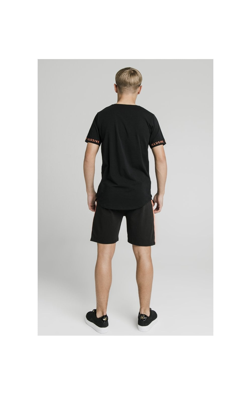 Illusive London Tape Shorts - Black (4)