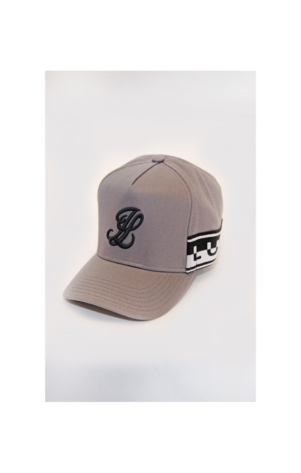 Load image into Gallery viewer, Illusive London Taped Trucker - Grey & Black