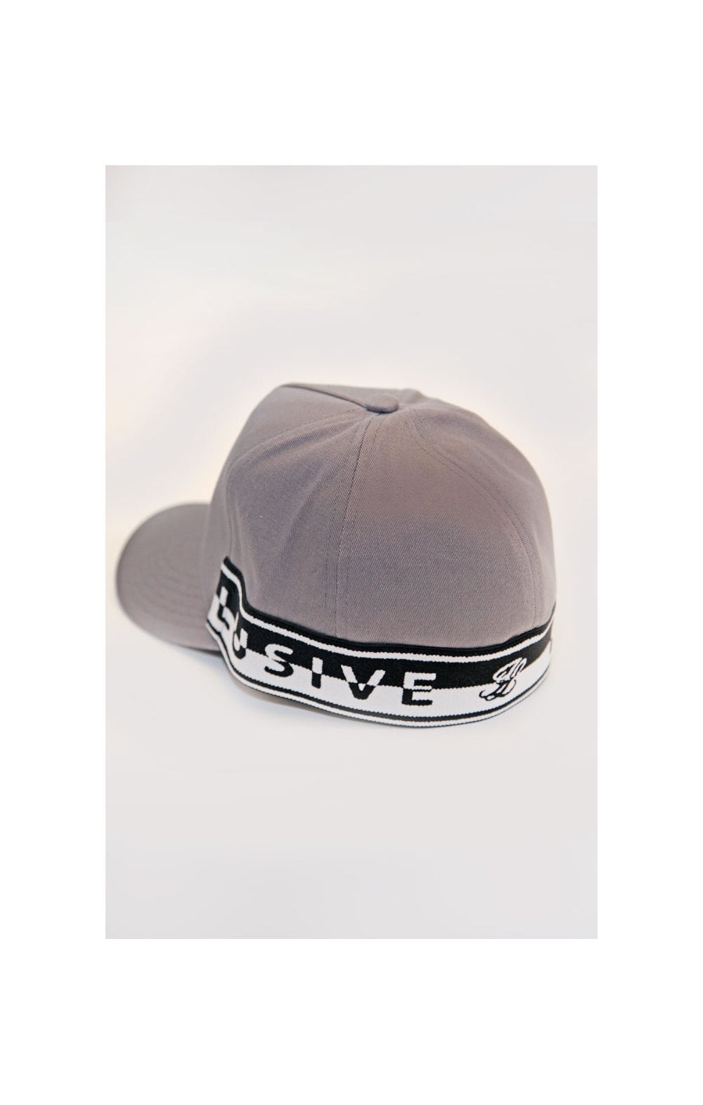 Load image into Gallery viewer, Illusive London Taped Trucker - Grey & Black (1)