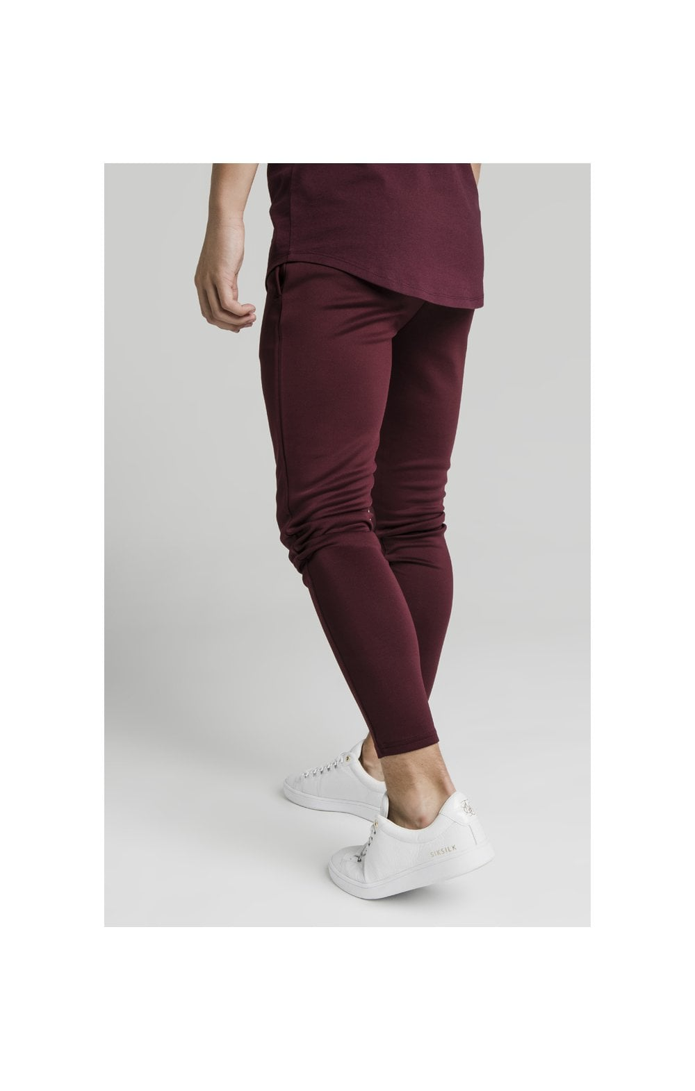 Load image into Gallery viewer, Illusive London Agility Track Pants - Burgundy (3)