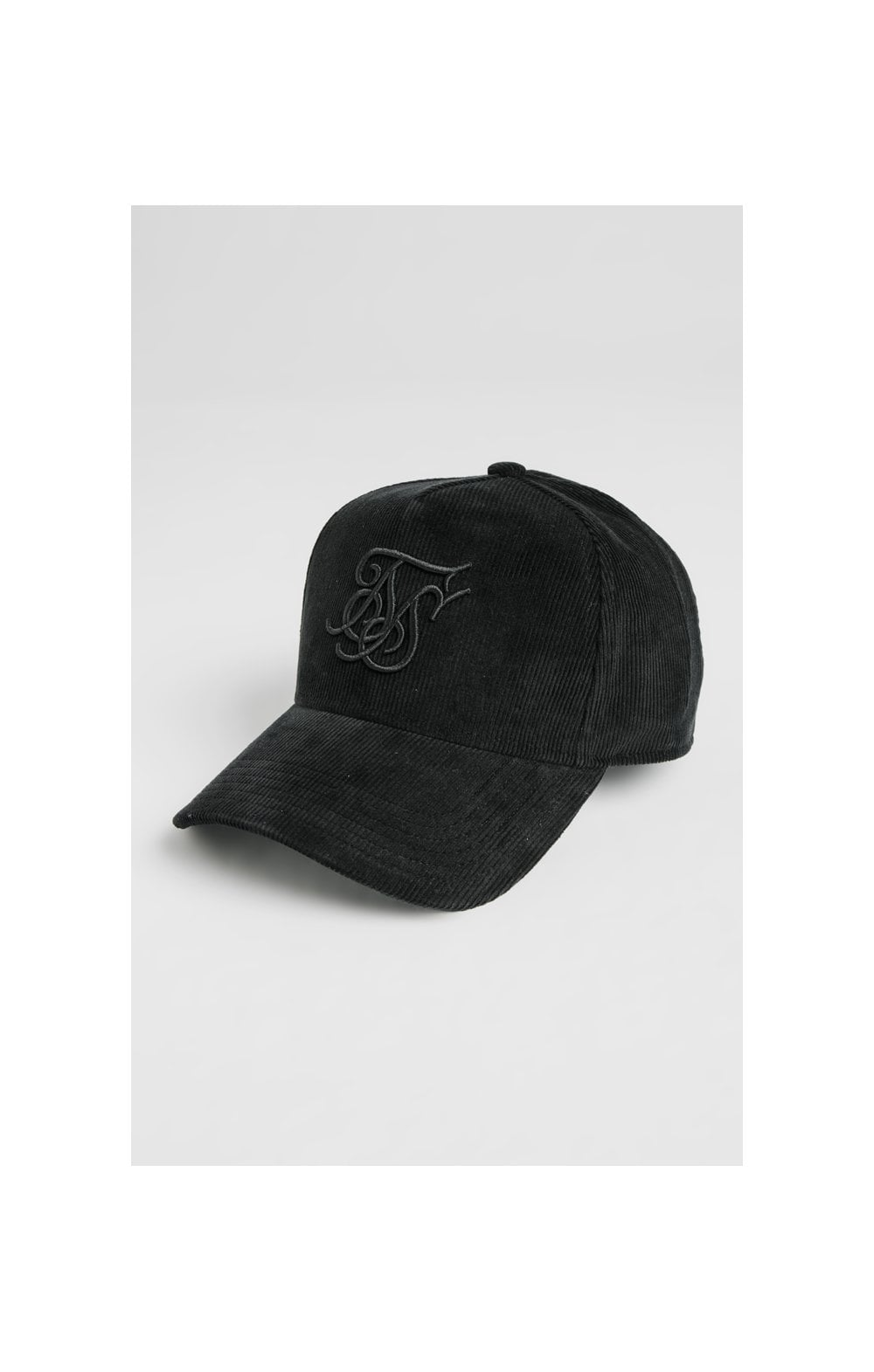 Load image into Gallery viewer, SikSilk Corduroy Full Trucker - Black