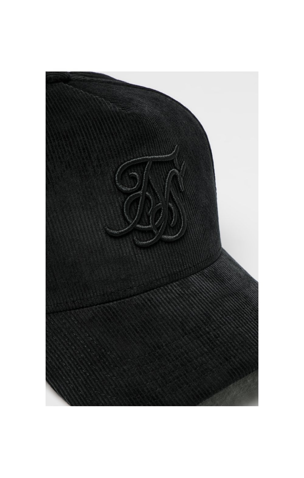 Load image into Gallery viewer, SikSilk Corduroy Full Trucker - Black (1)