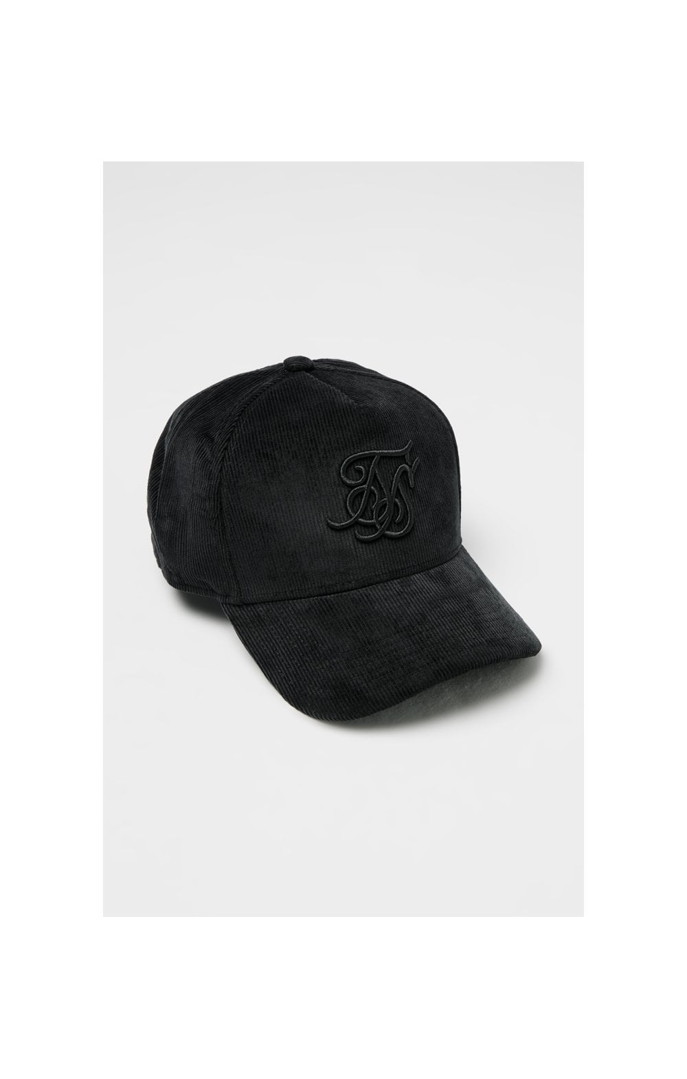 Load image into Gallery viewer, SikSilk Corduroy Full Trucker - Black (2)