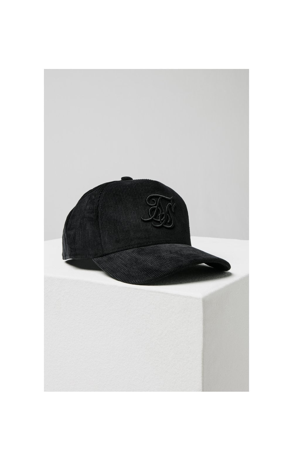 Load image into Gallery viewer, SikSilk Corduroy Full Trucker - Black (4)