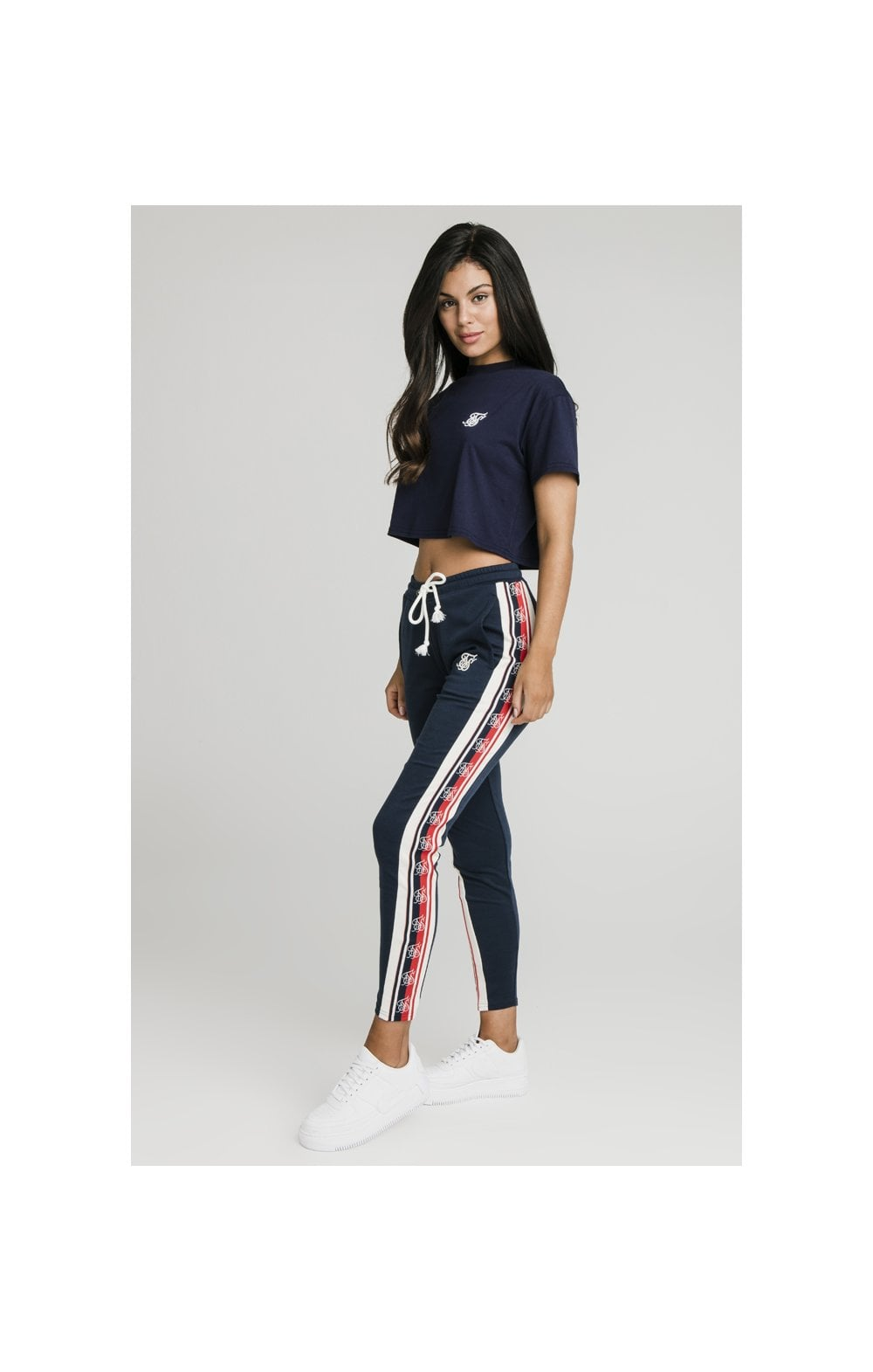 SikSilk Classic Tape Jogger - Navy (2)
