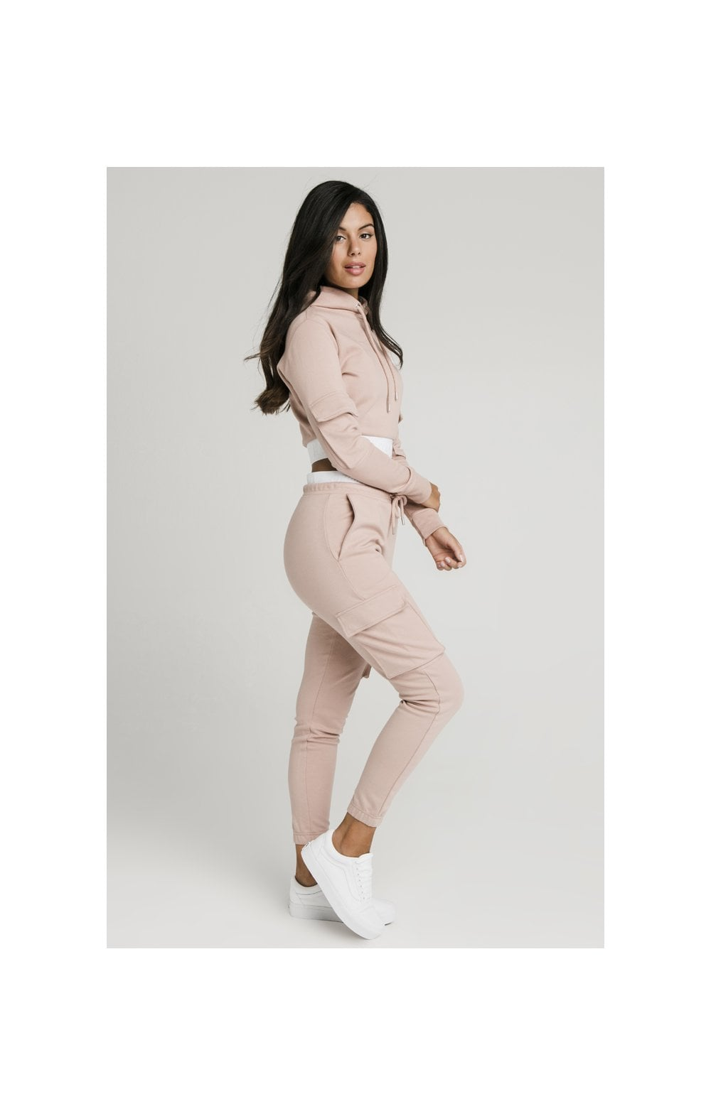 Load image into Gallery viewer, SikSilk Cargo Joggers - Rose (4)