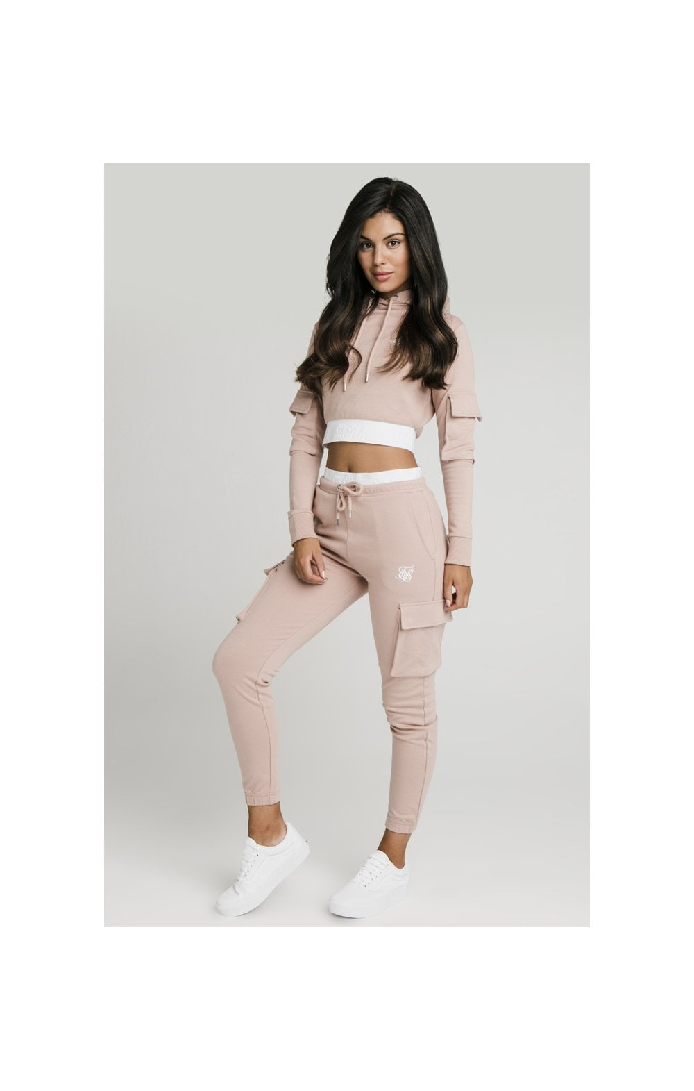 Load image into Gallery viewer, SikSilk Cargo Joggers - Rose (5)