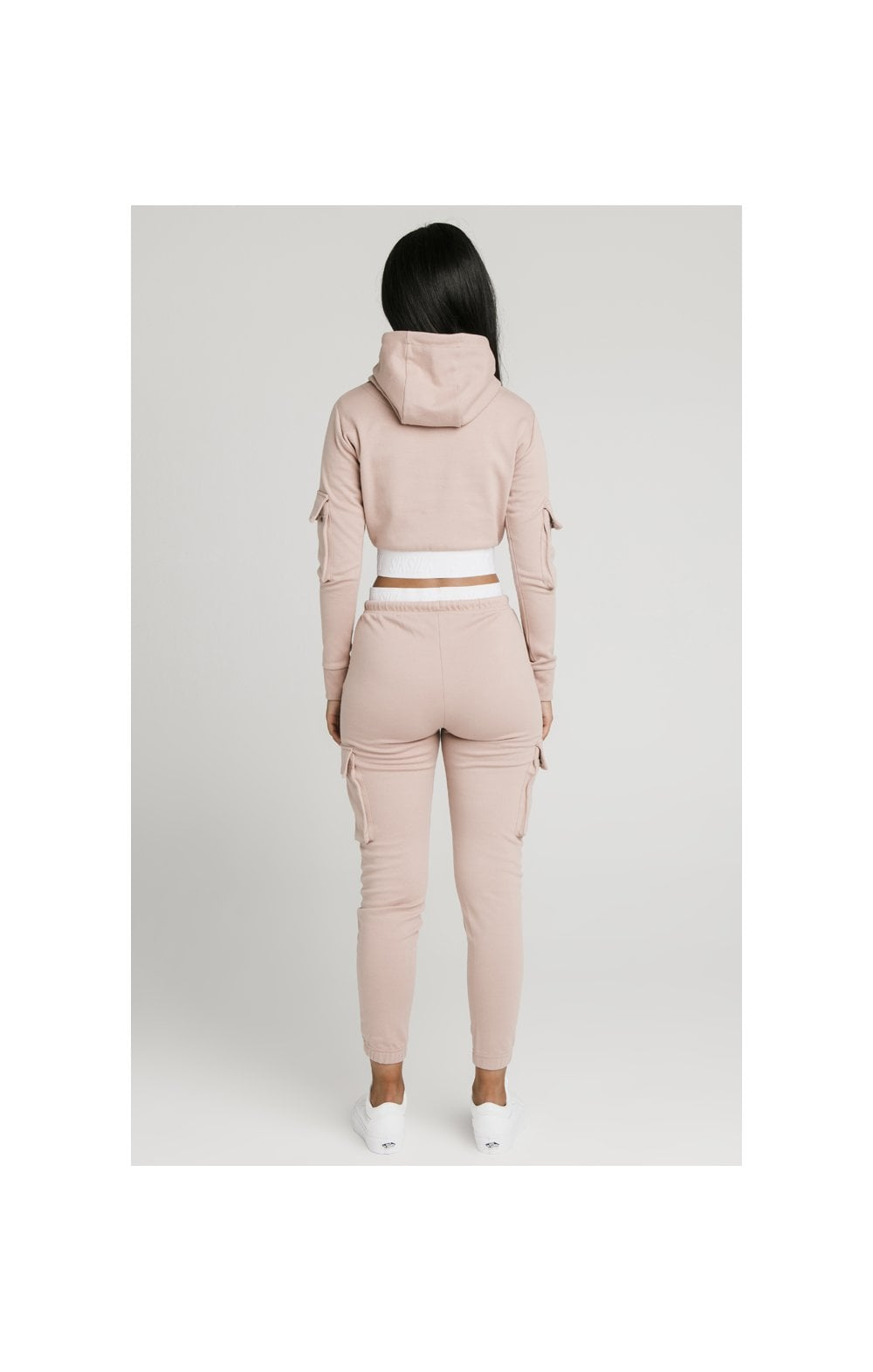 Load image into Gallery viewer, SikSilk Cargo Joggers - Rose (7)
