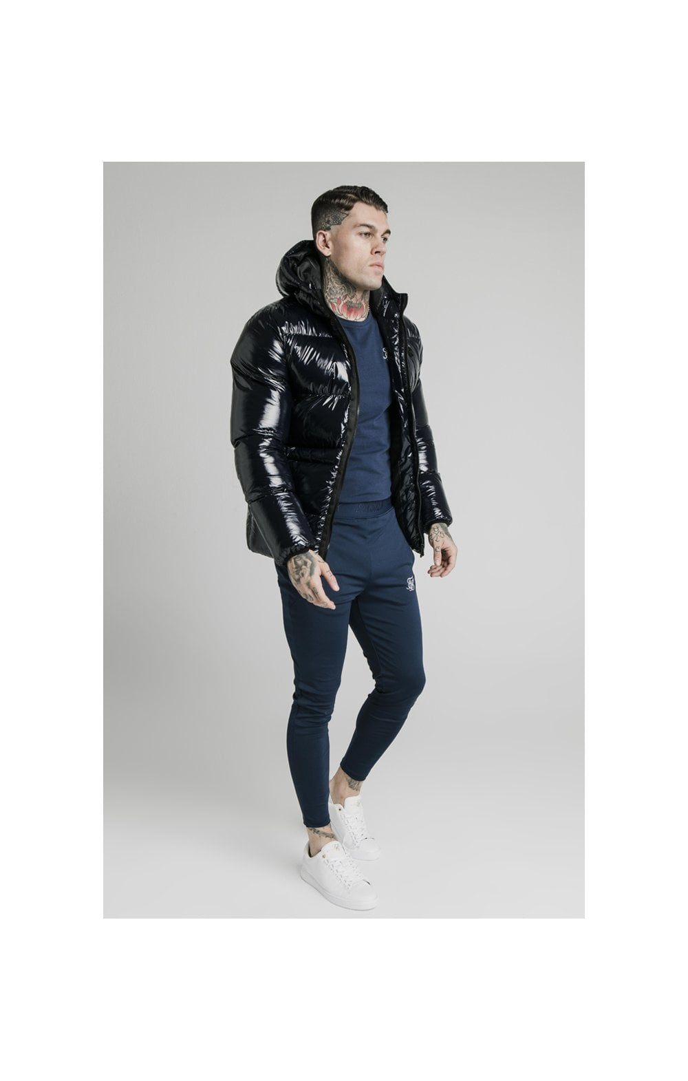 Load image into Gallery viewer, SikSilk Adapt Jacket - Navy (2)