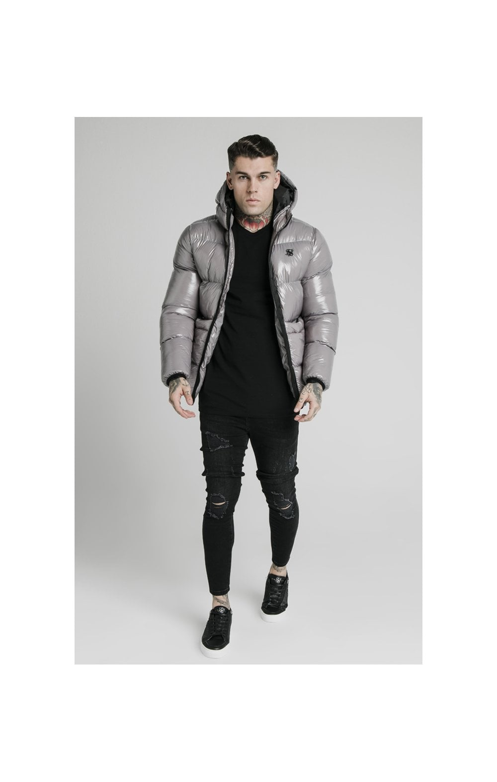 SikSilk Adapt Jacket - Dark Grey (3)