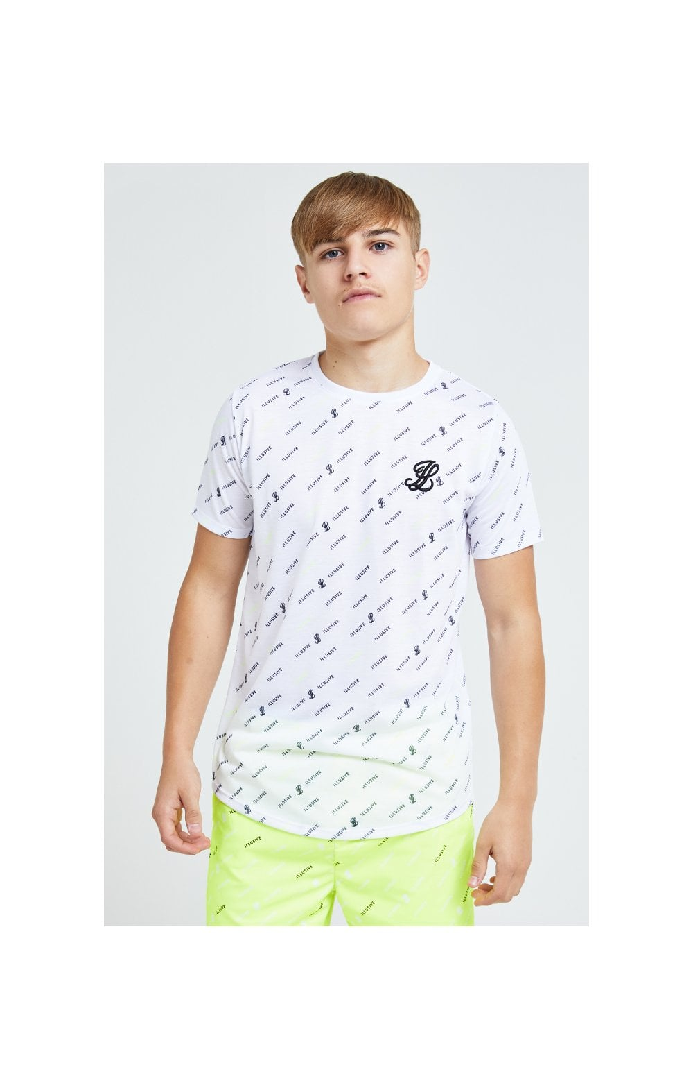 Illusive London All Over Print Tee - White (2)