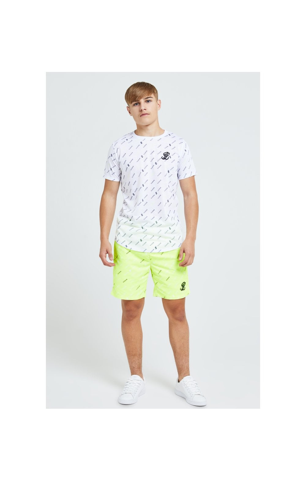 Illusive London All Over Print Tee - White
