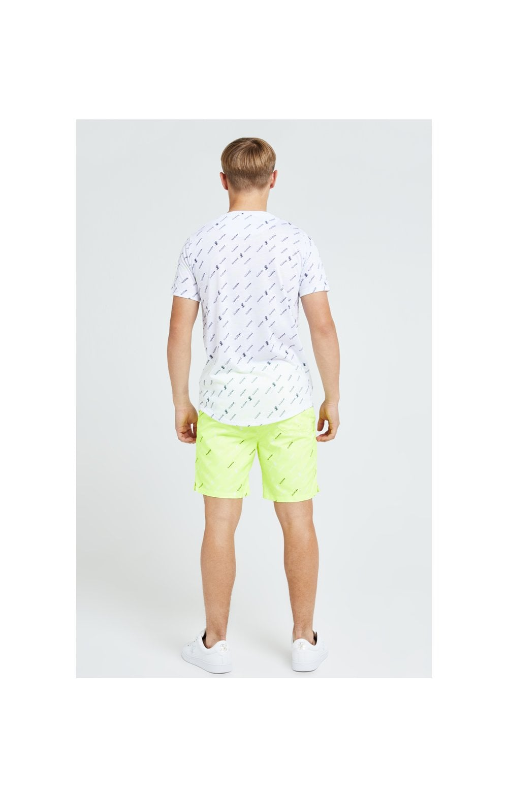 Illusive London All Over Print Tee - White (4)