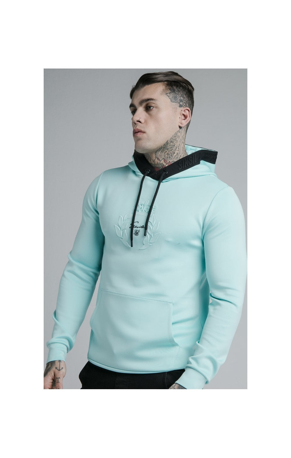 Load image into Gallery viewer, SikSilk Prestige Overhead Hoodie - Teal