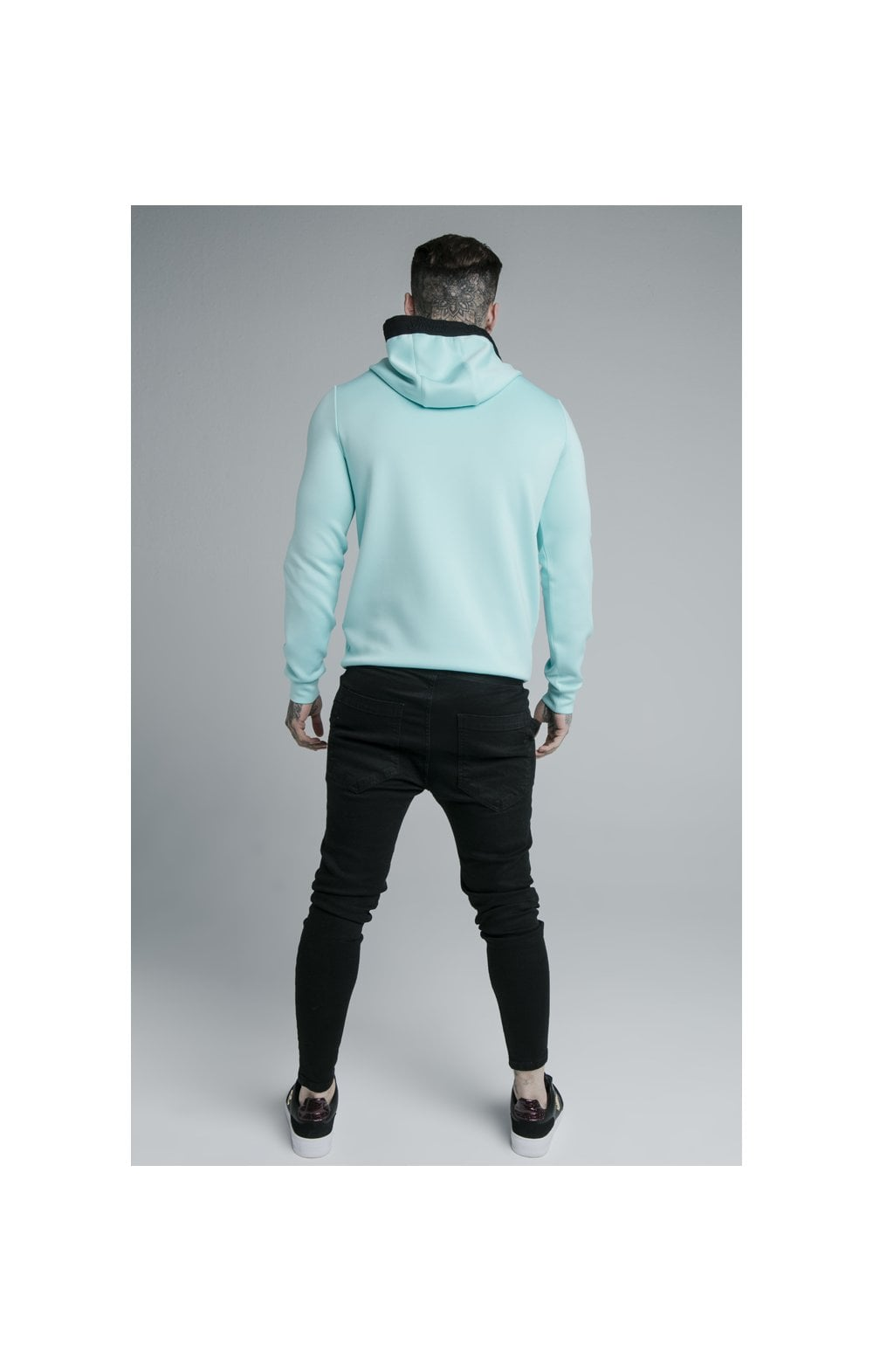 Load image into Gallery viewer, SikSilk Prestige Overhead Hoodie - Teal (5)