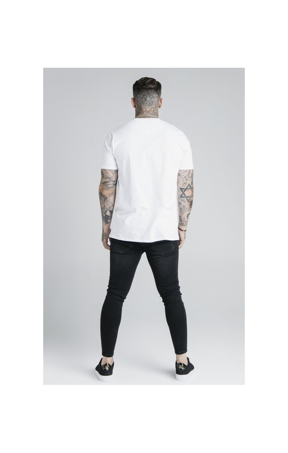 Load image into Gallery viewer, SikSilk S/S Basic Core Tee – White (5)