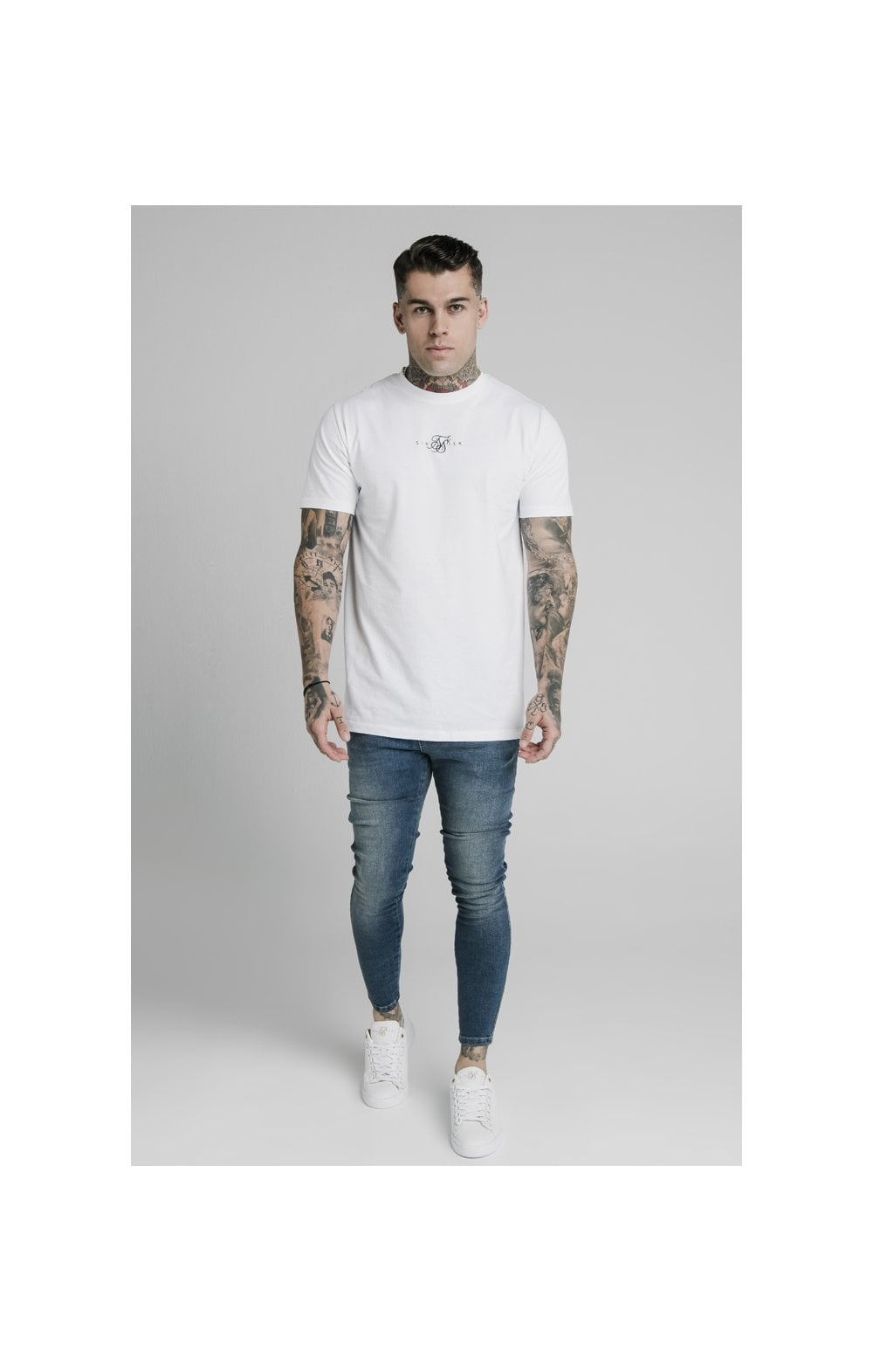 SikSilk Skinny Denim – Midstone