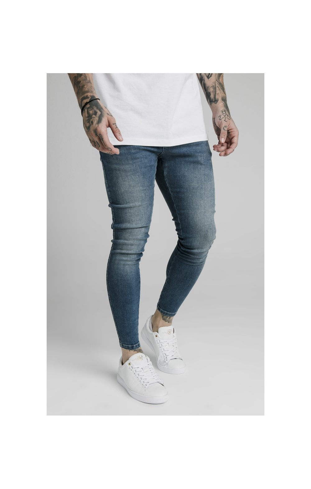 SikSilk Skinny Denim – Midstone (2)