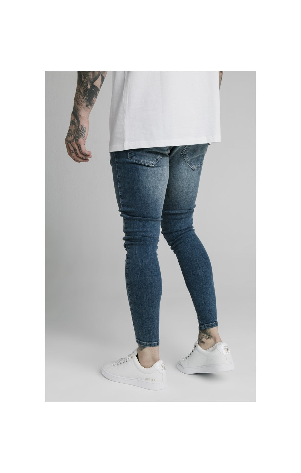 SikSilk Skinny Denim – Midstone (4)