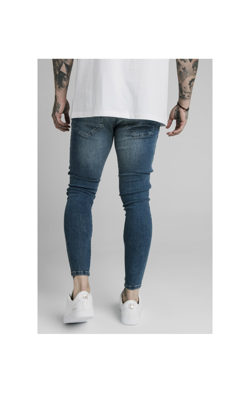 SikSilk Skinny Denim – Midstone (5)