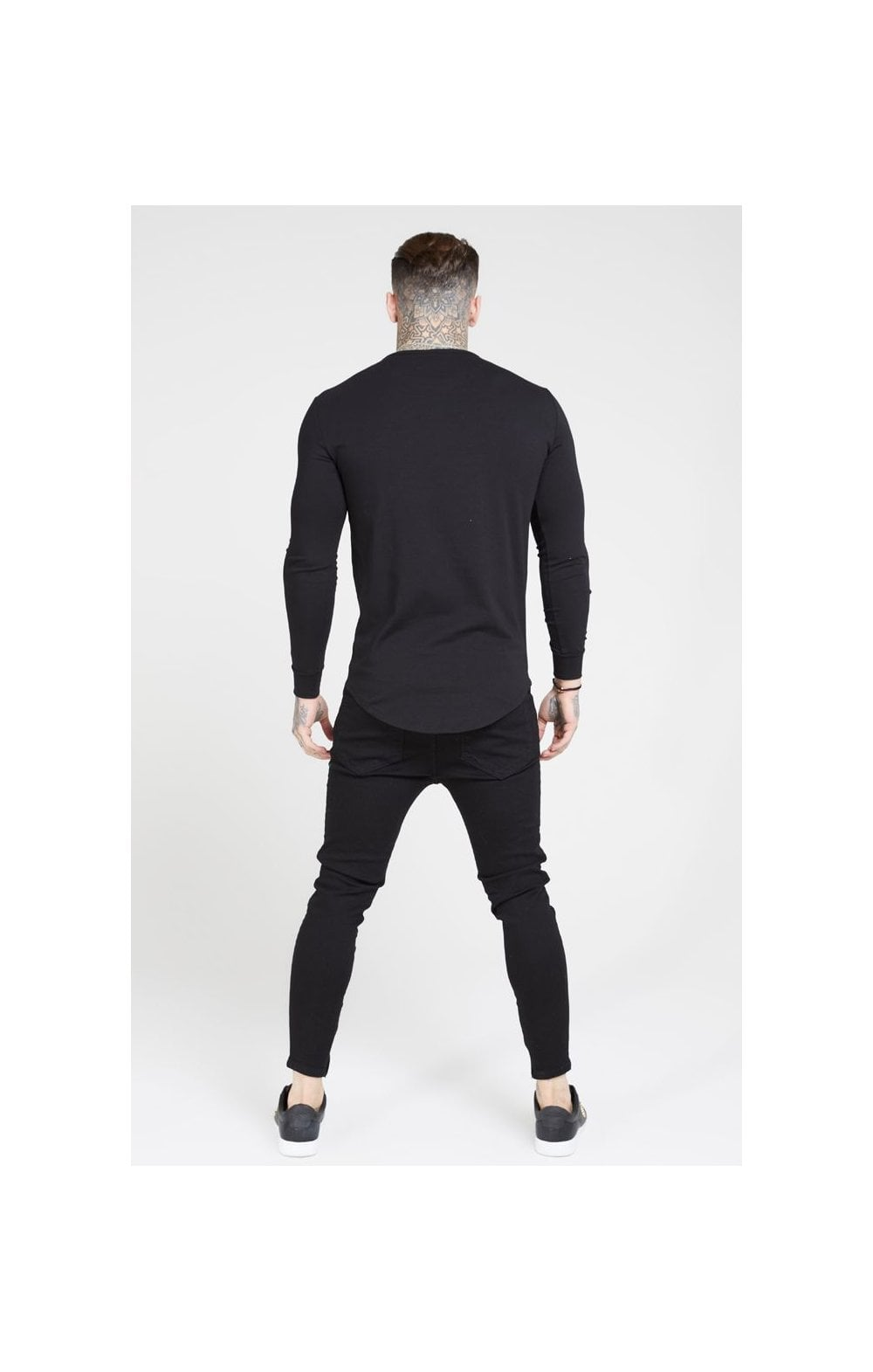 Load image into Gallery viewer, SikSilk Drop Crotch Denims – Black (3)