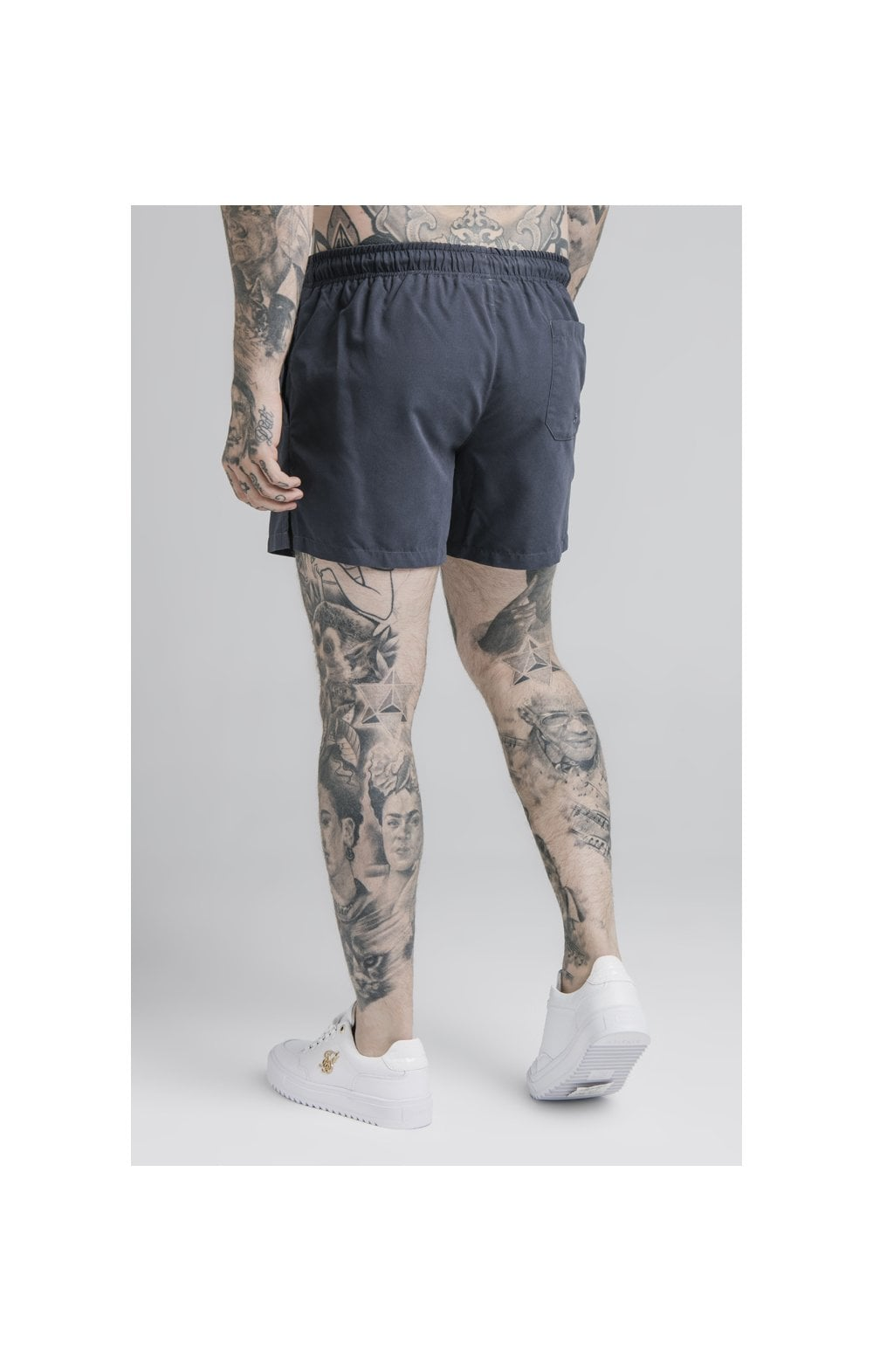 SikSilk Standard Swim Shorts – Navy (1)