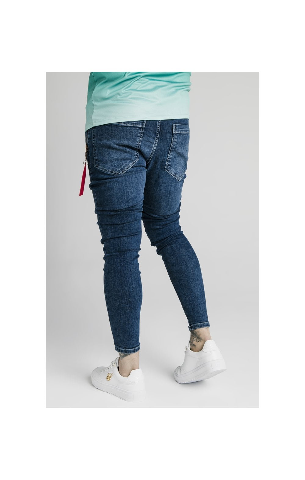 Load image into Gallery viewer, SikSilk Distressed Flight Denims – Midstone (5)