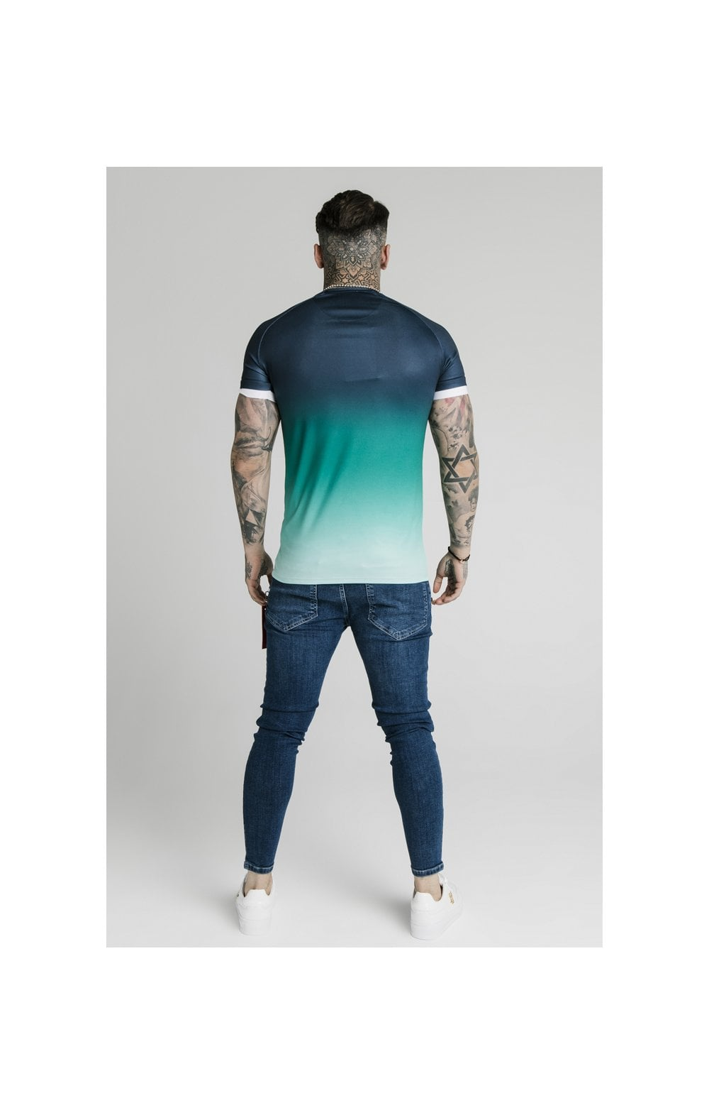 Load image into Gallery viewer, SikSilk Distressed Flight Denims – Midstone (6)