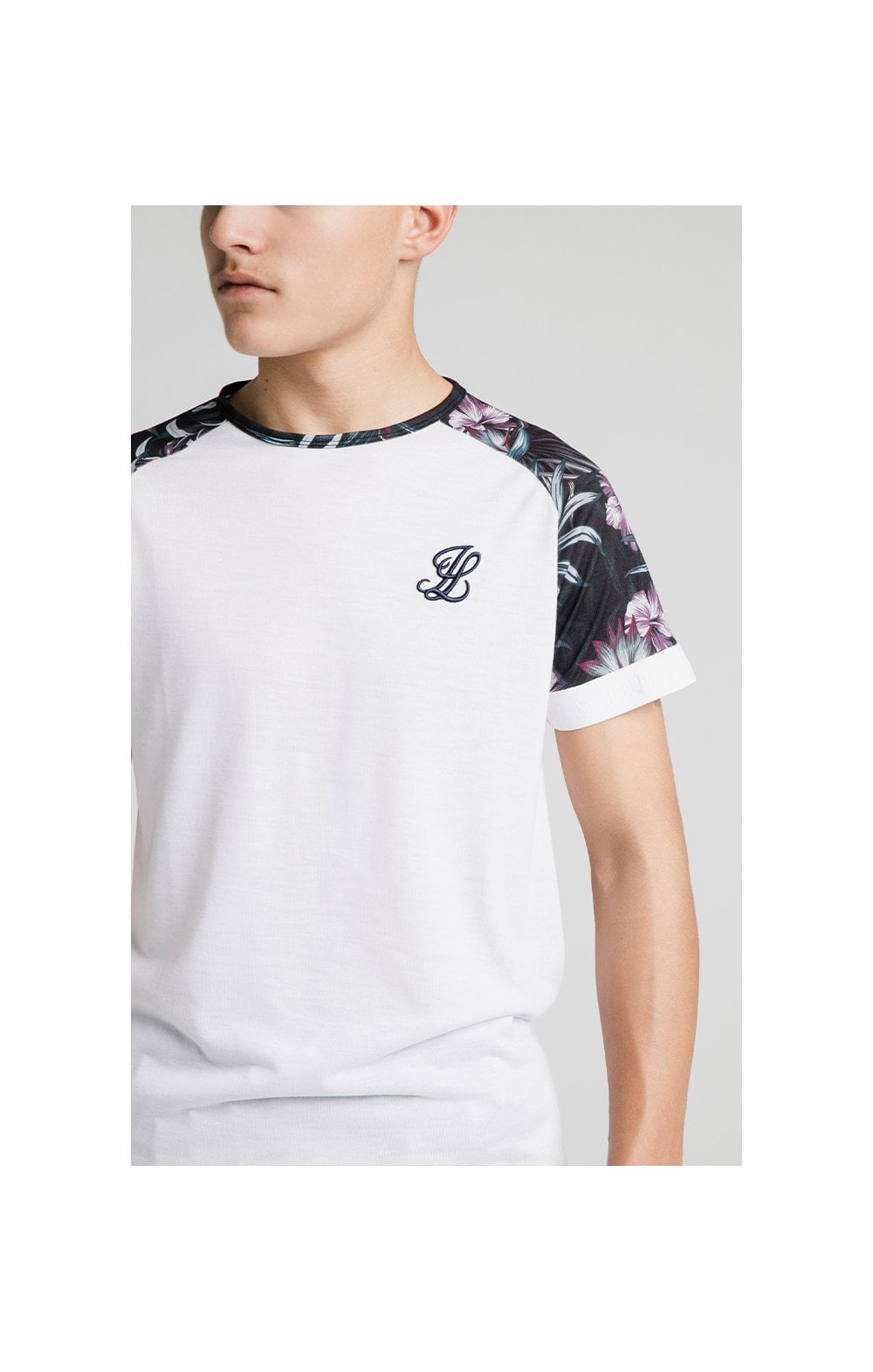 Load image into Gallery viewer, Illusive London Tropical Tee - White (1)