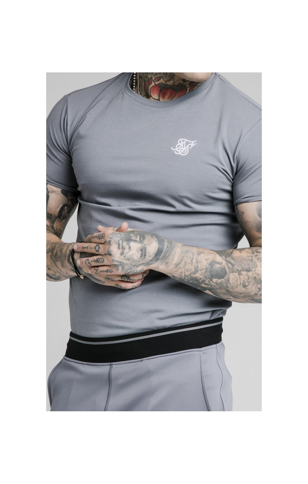 Load image into Gallery viewer, SikSilk S/S Gym Tee – Slate