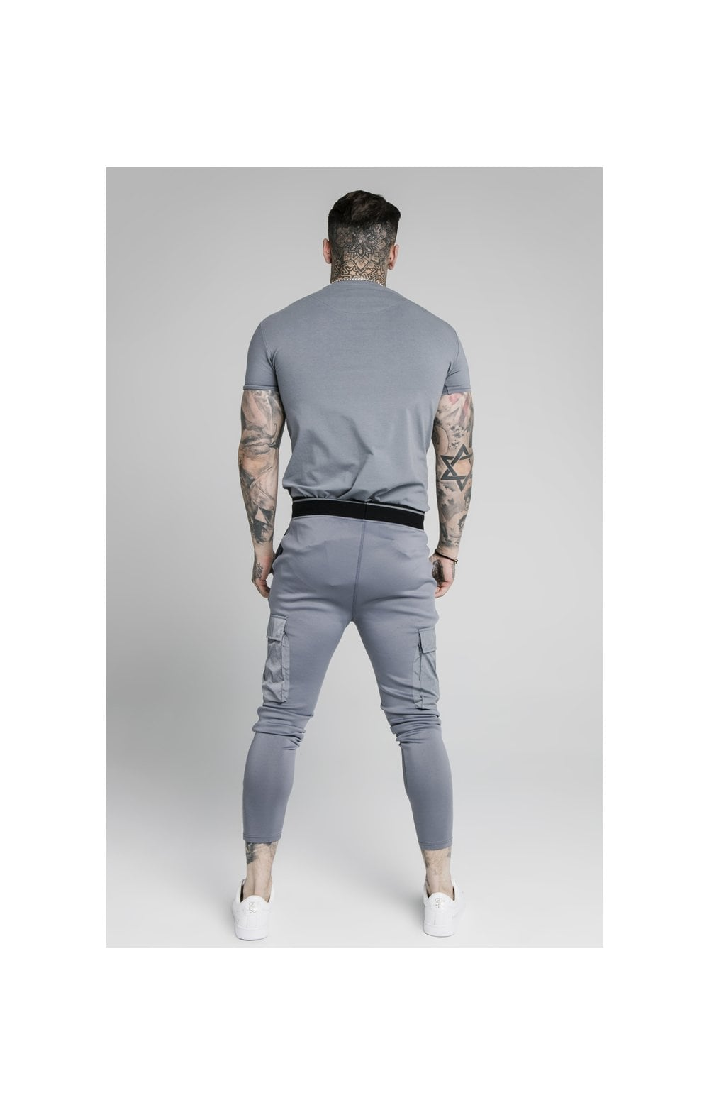 Load image into Gallery viewer, SikSilk S/S Gym Tee – Slate (3)