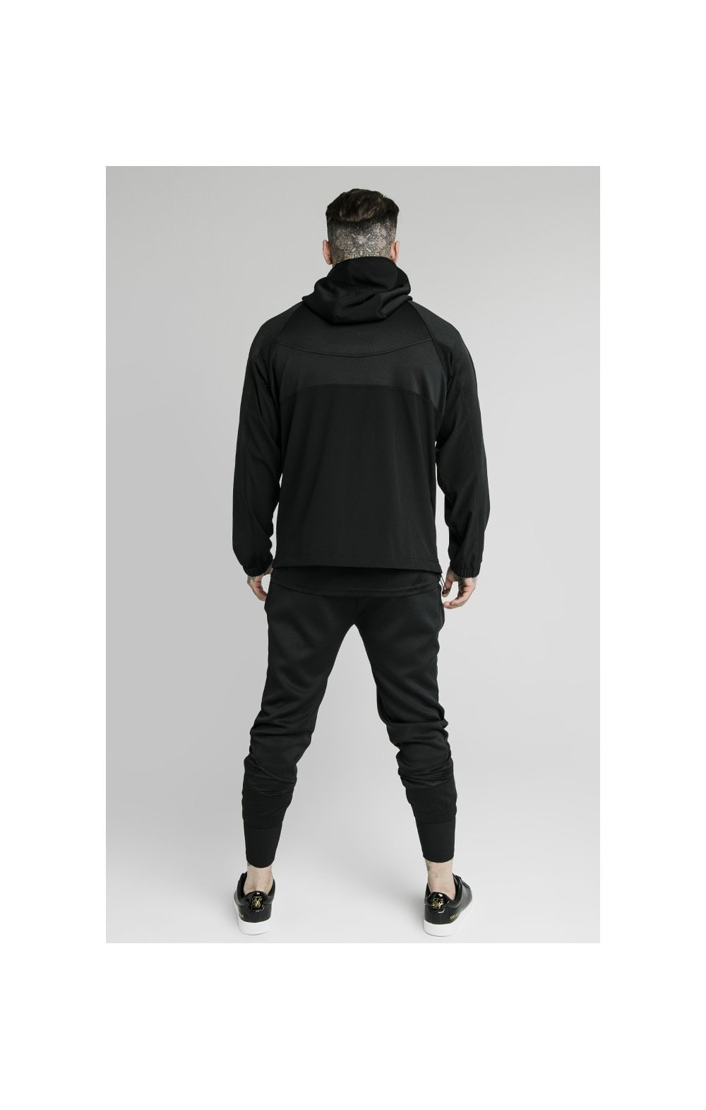 Load image into Gallery viewer, SikSilk Tranquil Quarter Zip Vent Pullover - Black (3)