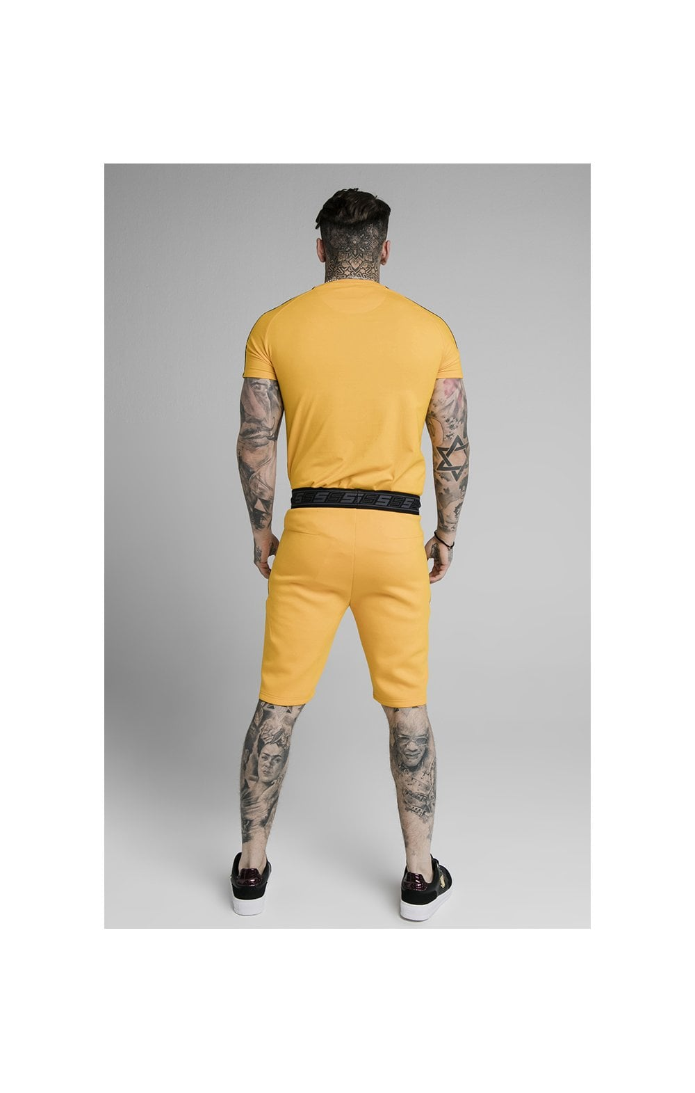 Load image into Gallery viewer, SikSilk Exhibit Function Shorts - Yellow (3)
