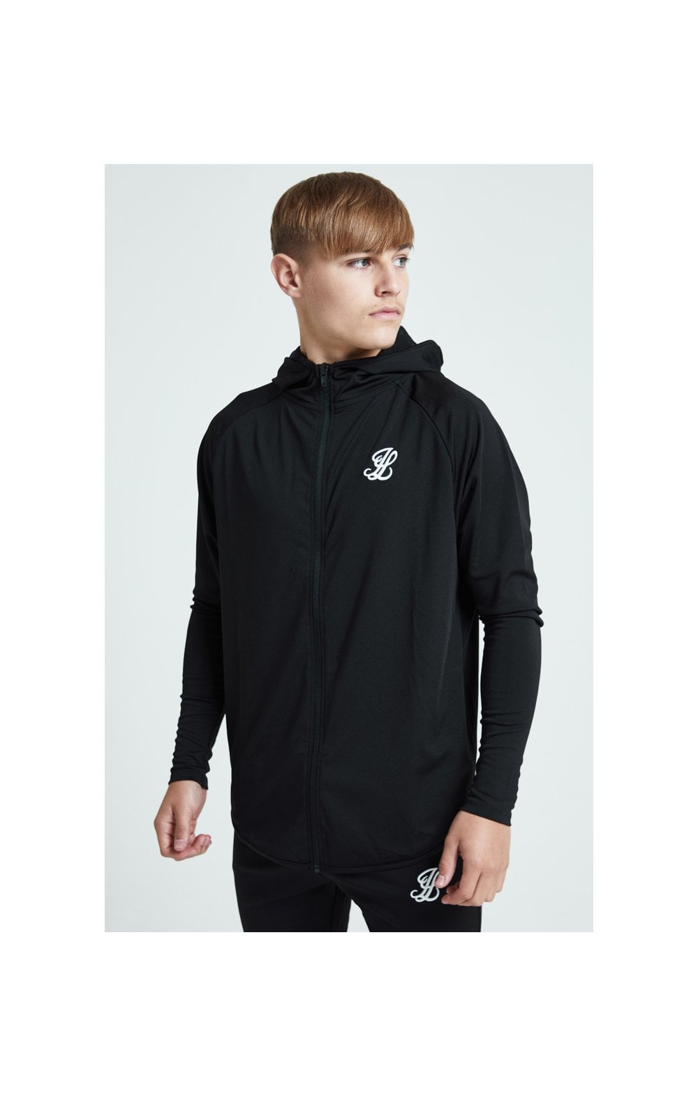Load image into Gallery viewer, Illusive London Core Athlete Hoodie - Black (2)