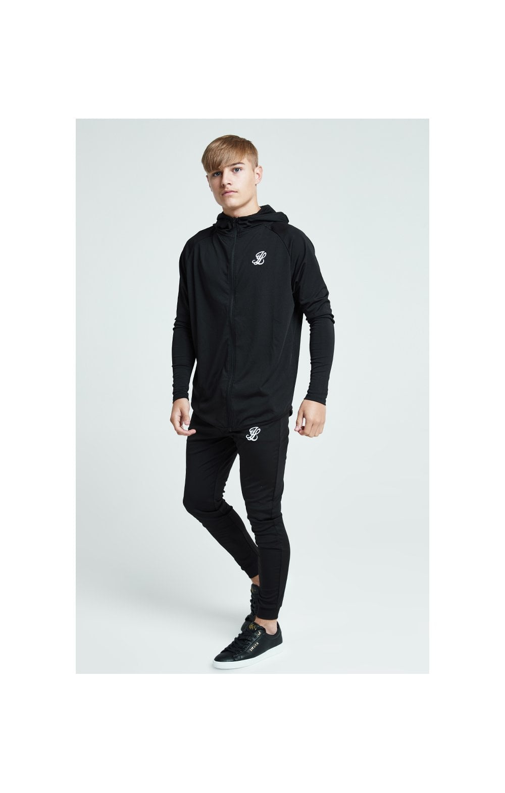 Load image into Gallery viewer, Illusive London Core Athlete Hoodie - Black (3)