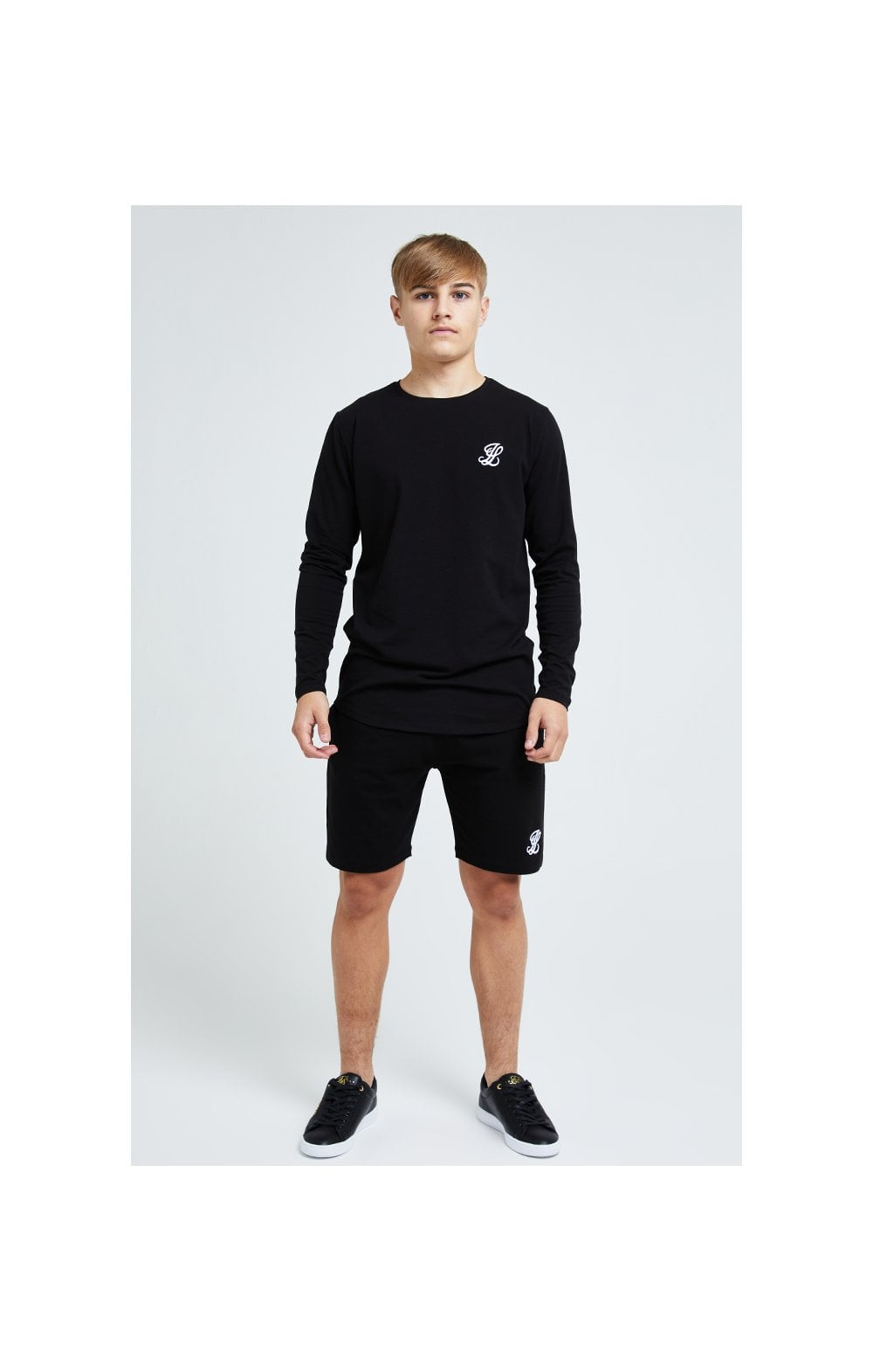 Illusive London L/S Core Tee - Black (3)
