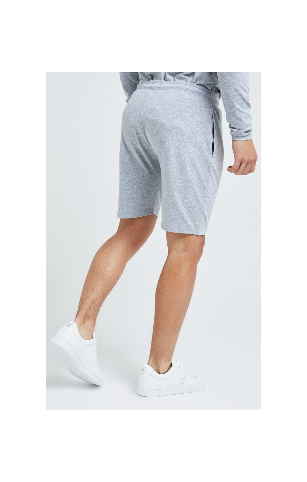 Load image into Gallery viewer, Illusive London Core Jersey Shorts - Grey Marl (4)