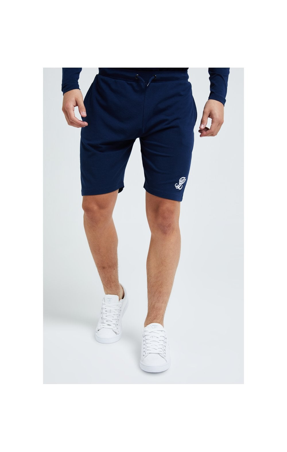 Load image into Gallery viewer, Illusive London Core Jersey Shorts - Navy