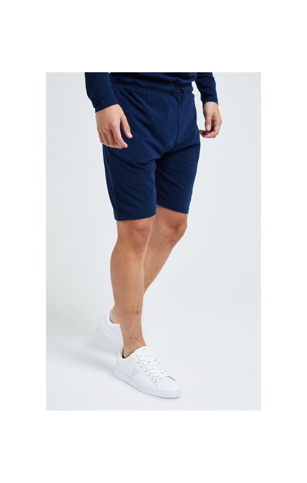 Load image into Gallery viewer, Illusive London Core Jersey Shorts - Navy (2)