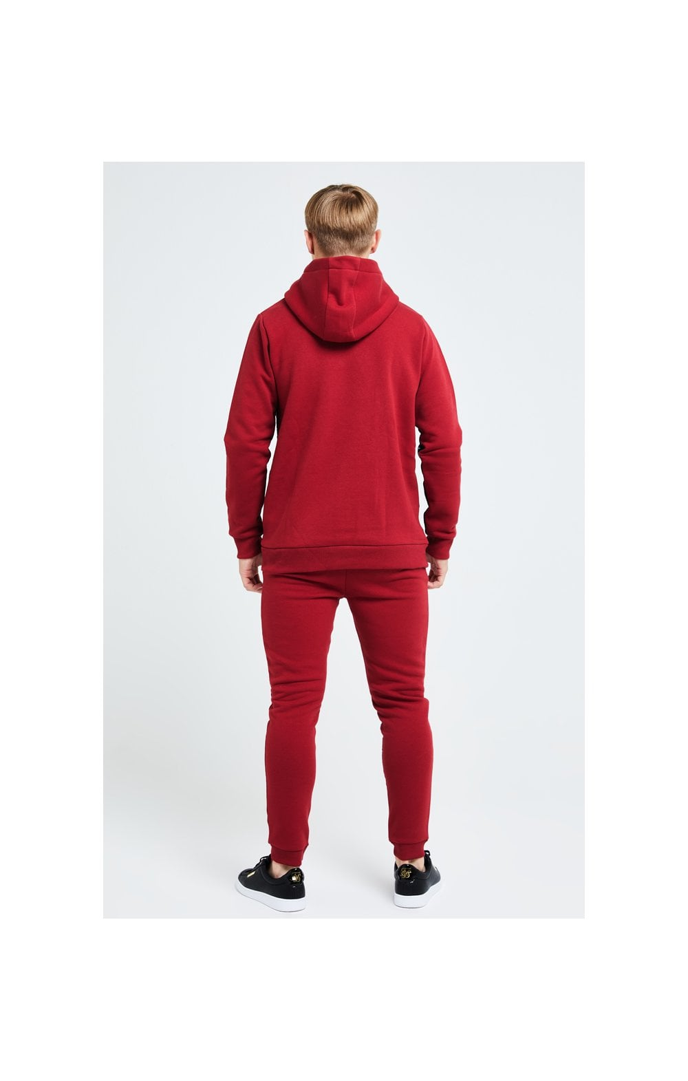 Illusive London Gravity Overhead Hoodie - Red (5)